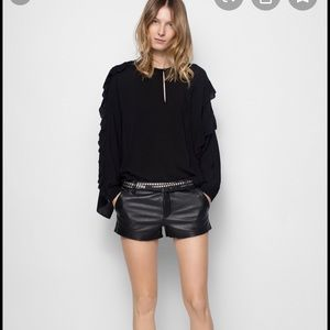 Zadig&Voltaire oversized blouse xs